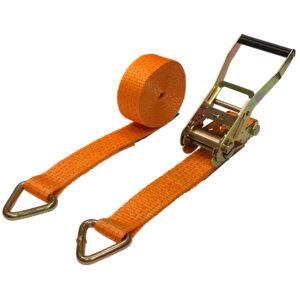 "5 Ton ""D"" Ring Ratchet Tie Down Strap"