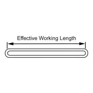 6 Ton Round Webbing Sling 'Single Sleeve'